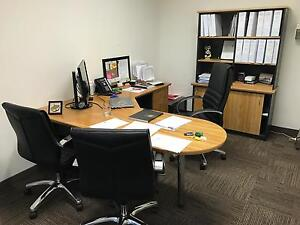 Office Desk Chair Wall Units for sale more than 60% off West Perth Perth City Area Preview