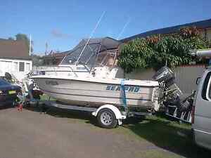 19 ft fishing boat TRADE/SWAP OFFERS CONSIDERED Milperra Bankstown Area Preview