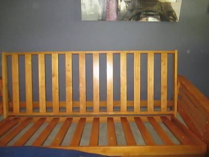 Solid Pine DB futon in great condition