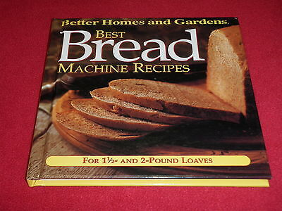 Best Bread Machine Recipes For 1 1/2lb & 2lb Loaves (Better Homes & (Best Home Bread Machine)