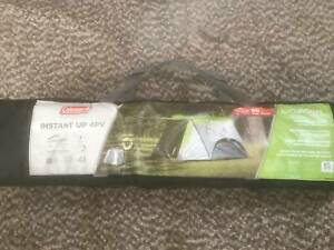 Brand New Coleman Instant 4 Man Tent