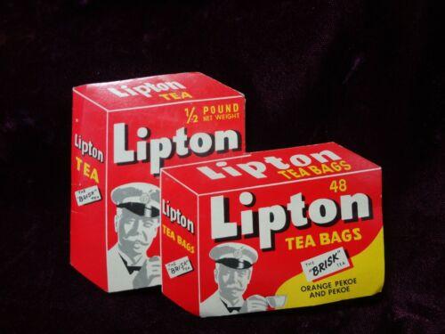 Vintage - Lipton Tea Bags - Sewing Needle KIT