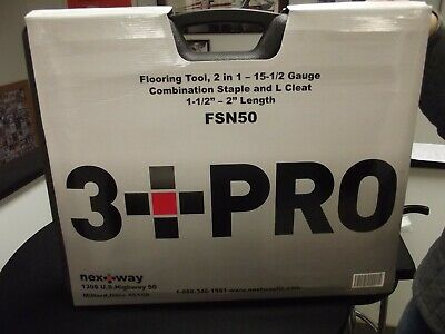3 Pro Professional Fsn50p 15ga Combination Flooring Nailer Tool15 Gauge