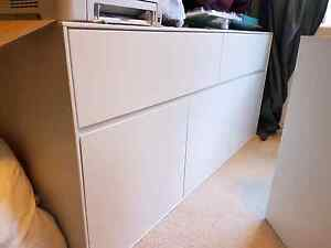 Side buffet cabinet with cupboards Wollongong Wollongong Area Preview