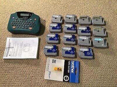 Brother P-touch Pt-65 Home And Hobby Label Maker Printer W Spare Tape
