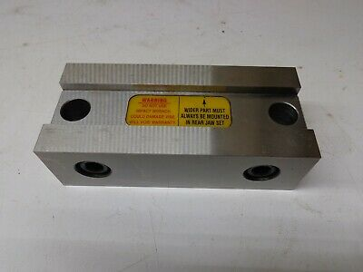 Kurt Stationary Vise Jaw For 6 Dl640 Vise With Hard Jaws Stk584