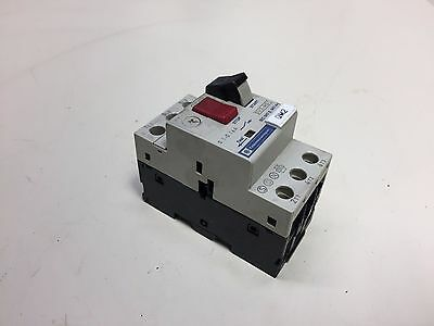 Telemecanique Motor Circuit Breaker, GV2-M01, 0.1 - 0.16 A, Used, Warranty