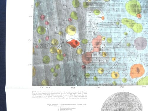 APOLLO 11 12 16 and 17 LANDING SITE GEOLOGIC MAPS Special! SAVE $50 ON ALL FOUR!