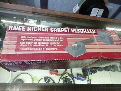 Knee Kicker Carpet Installer Stretcher Tool W Adjust Telescoping Handle 47337