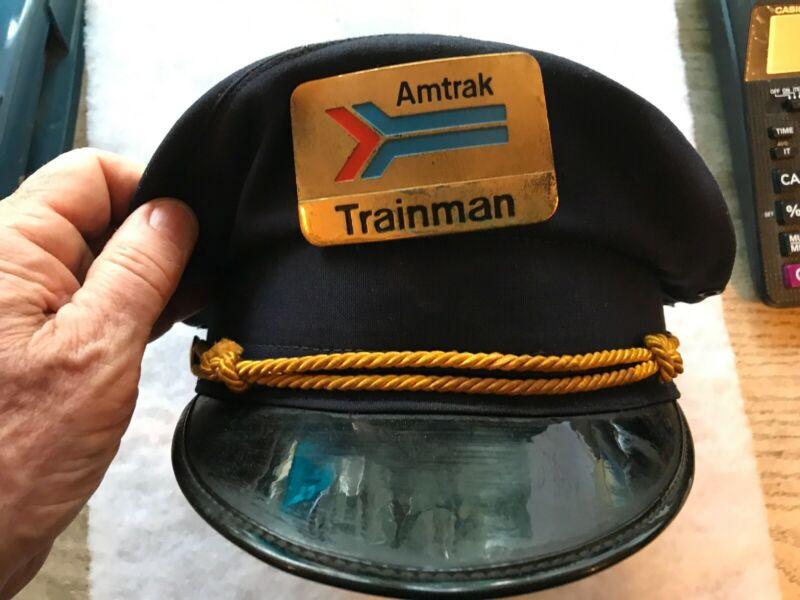 AMTRAK TRAINMAN Vintage Cap