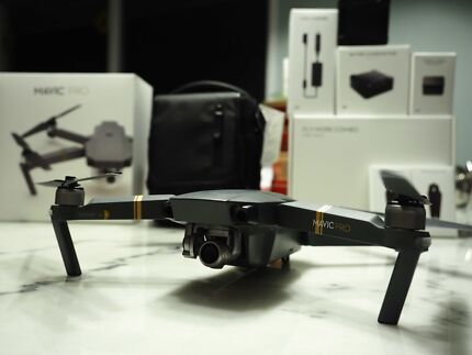 DJI Mavic Pro Fly More Combo *As New Condition*