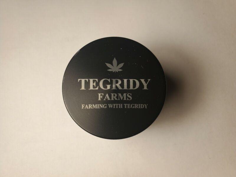 "Tegridy Farms south park 2"" 4 piece herb grinder - black"