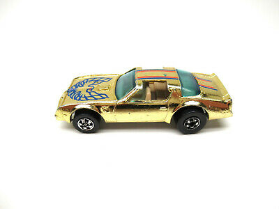 HOT WHEELS BW HK GOLD CHROME PONTIAC TRANS AM HOT BIRD
