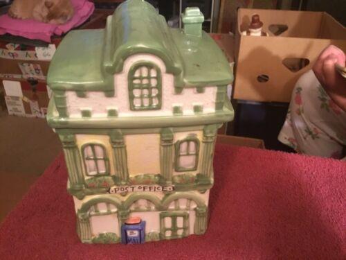 Post Office Ceramic Cookie Jar