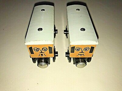 Thomas The Tank Engine Clarabel & Annie! Wooden Toy Train Cars - 2!