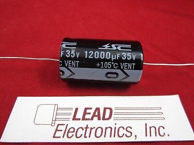12000uf 35v Axial Electrolytic Aluminum Capacitor 12000mfd 12000uf 35vdc 105deg