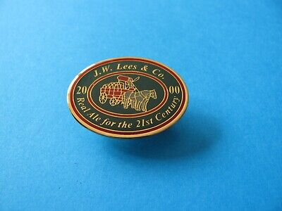 Unused Real Ale for the 21st Century 2000 KING /& BARNES Brewery pin badge VGC
