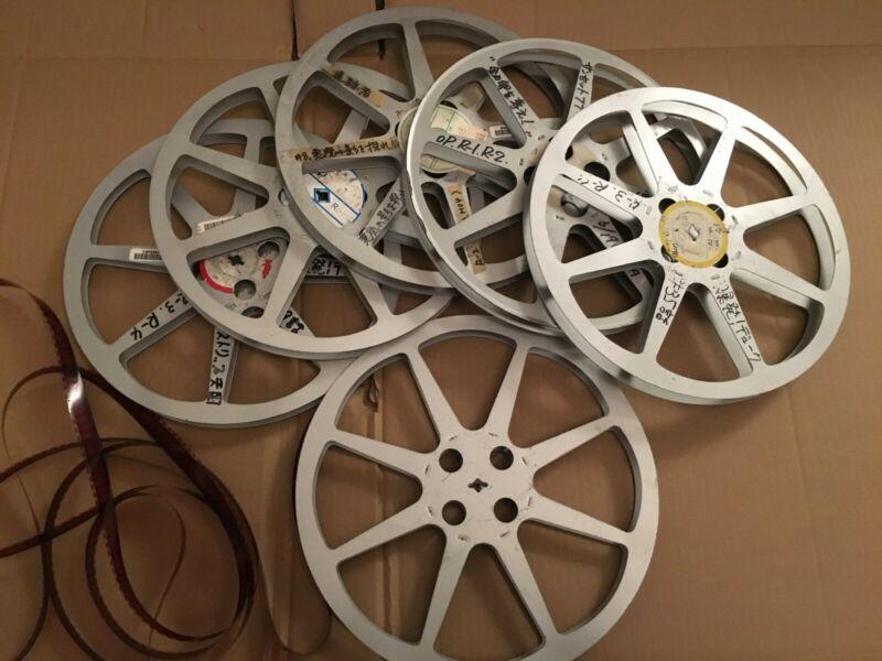 """1 WB VINTAGE 16MM 1200 FT 11 3/4 X 3/4 INCH Metal MOVIE FILM REEL hub is 3 1/2"""""""