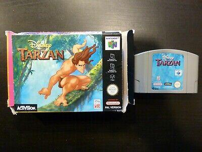 Nintendo 64 Disney Tarzan PAL complet N64 Vers. EUR / FRA voir descriptif