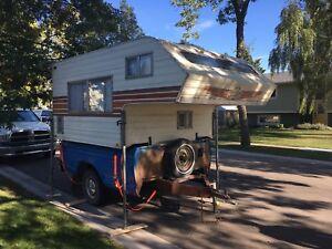 81 frontier 8' camper