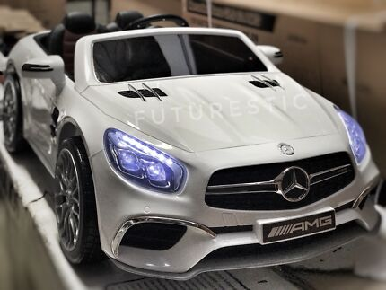 New 12V Mercedes AMG SL65 Top Range Electric Kids Ride On Cars Remote Georges Hall Bankstown Area Preview