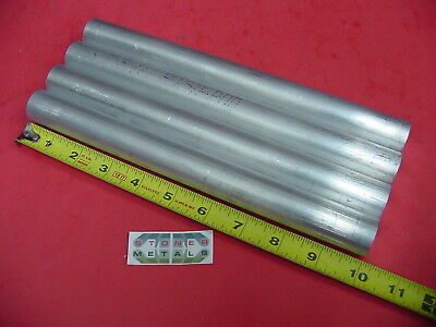 4 Pieces 1 Aluminum 6061 Round Rod 10 Long T6511 Solid Extruded New Bar Stock