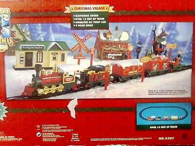 Toy State ® North Pole Christmas Express Train Set For Village