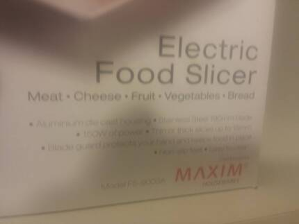 Electric Food Slicer Angle Park Port Adelaide Area Preview