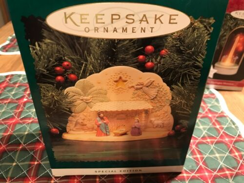 "Keepsake Ornament ""O Holy Night"" Set of 4"