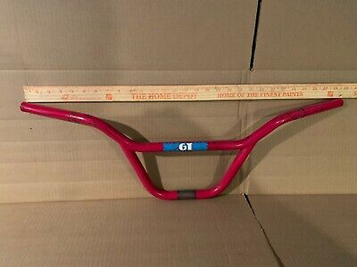 restoration decals Red Blue Ready To Ship 1990 GT BMX PFT Pro Freestyle Tour