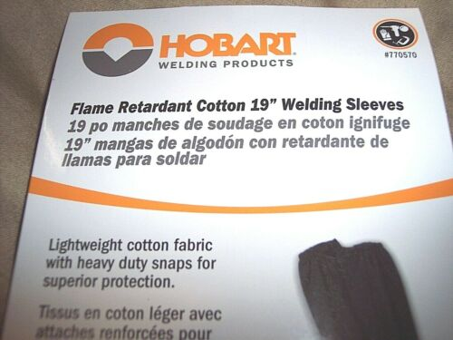 "19"" Welding Sleeves Welders Flame Retardant Cotton 19"" Sleeves Soldering Welder"