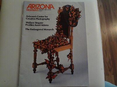 Arizona Highways, Januar 1984, Wallace Stegner, The Endangered Monarch