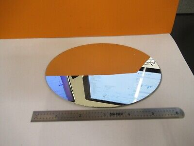 Leitz Germany Oval Mirror Large Optics Microscope Part As Pictured G1-a-03