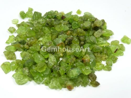 1000 Cts  Natural Olive Green Peridot Gem Rough loose Gemstone lot