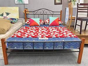 TODAY DELIVERY MODERN Queen bed & WA MADE mattress SALE NOW Belmont Belmont Area Preview