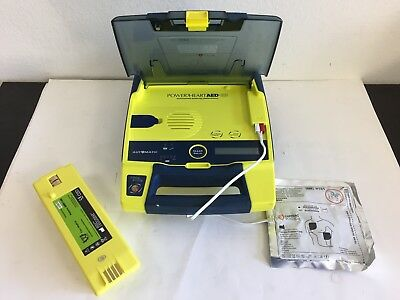 Cardiac Science Powerheart G3 Aed W New Battery And New Adult Pad