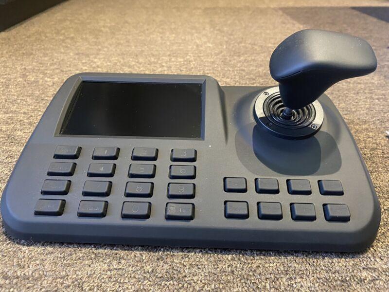 PTZ camera controller keyboard onvif