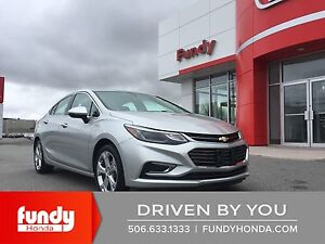 2017 Chevrolet Cruze Premier Auto LEATHER-MOONROOF-WIFI-SAVE BIG