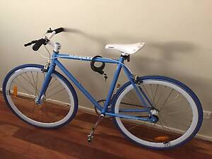[URGENT] Reid Harrier blue single speed bicycle Kensington Melbourne City Preview