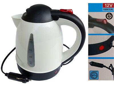 Wasserkocher 12V 0,8L Ohne Heizspirale Überhitzungsschutz Auto 150W Teekocher