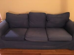 Moving Sale IKEA blue couch