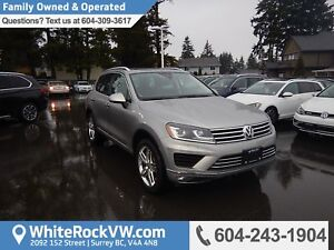 2017 Volkswagen Touareg 3.6L Execline BC Driven, No Accidents...