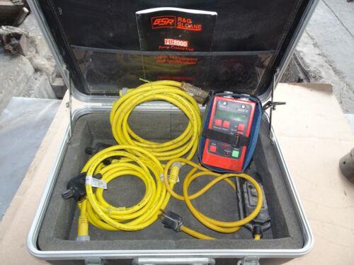 George Fischer GSR FU-2000 Welder Electrofusion Pipe Fusion power supply Mcelroy