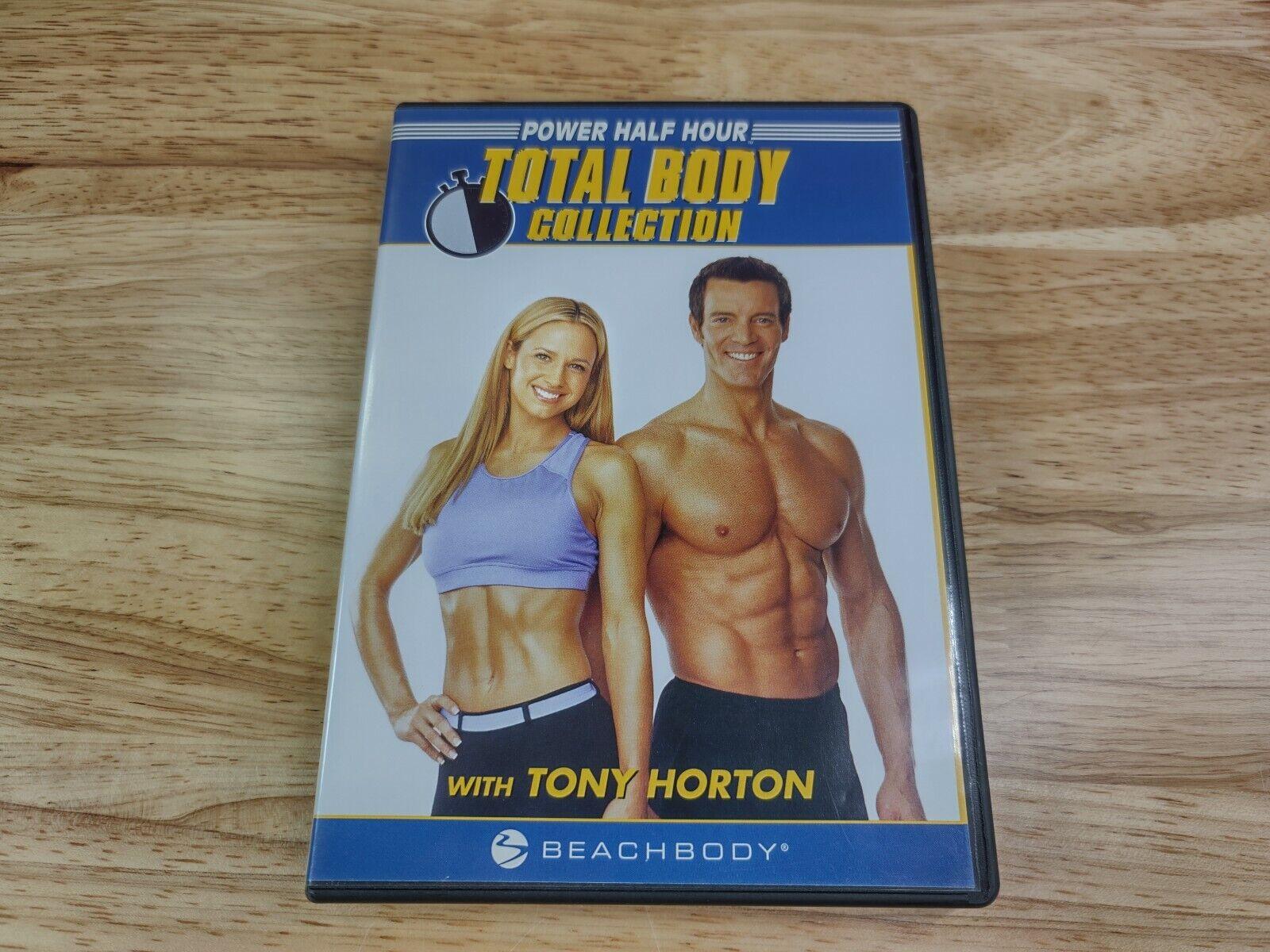 Power Half Hour Total Body Collection With Tony Horton Beachbody DVD Good - $9.95