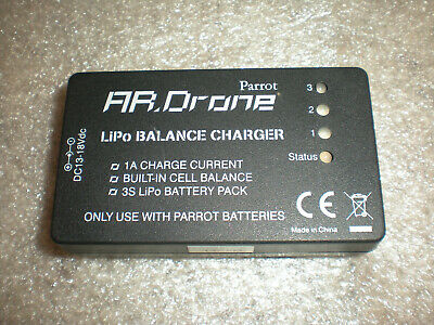 OEM Parrot AR Drone Lipo Balance Battery Charger ONLY NO POWER SUPPLY ADAPTER