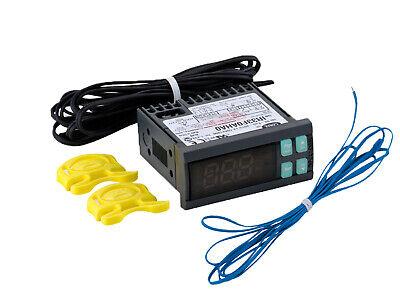 Carel Temperature Thermostat Ir33f0aha0 With 2 Temperature Sensor Probes 115v