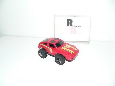 LJN Rough Rider Datsun 4X4 Maroon Lights Up