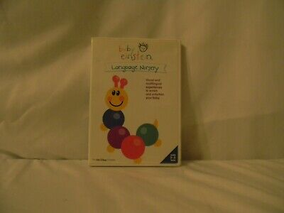 Baby Einstein: Language Nursery (DVD, 2002) Pre-owned