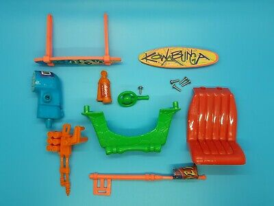 Vintage Playmates - TMNT - Ninja Turtles - Mike's Kowabunga Surf Buggy Parts Lot