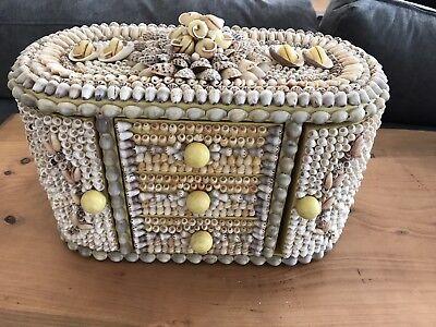 Valentine Day Box Ideas (Sailors Shell Valentine jewellery box large. Anniversary/Valentines Day)
